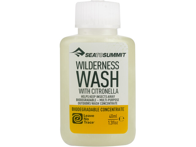 Sea to Summit Wilderness Wash with Citronella 40ml